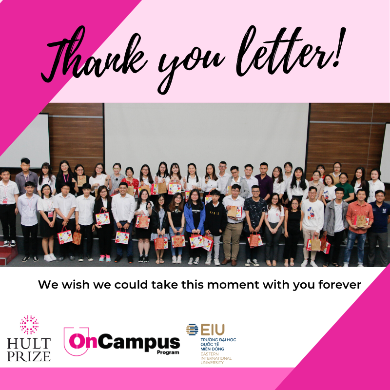 Hult Prize on Campus 2019